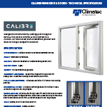 Calibre Spec Sheet