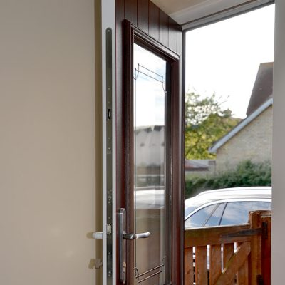 Dual colour uPVC stable door