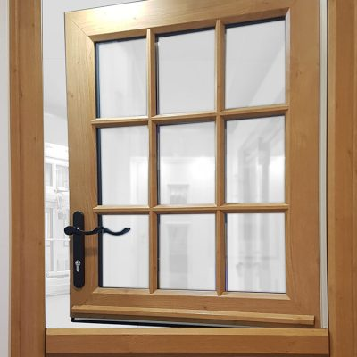 Oak effect uPVC stable door