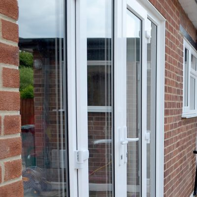 Rehau uPVC french door