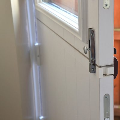 uPVC stable door close up