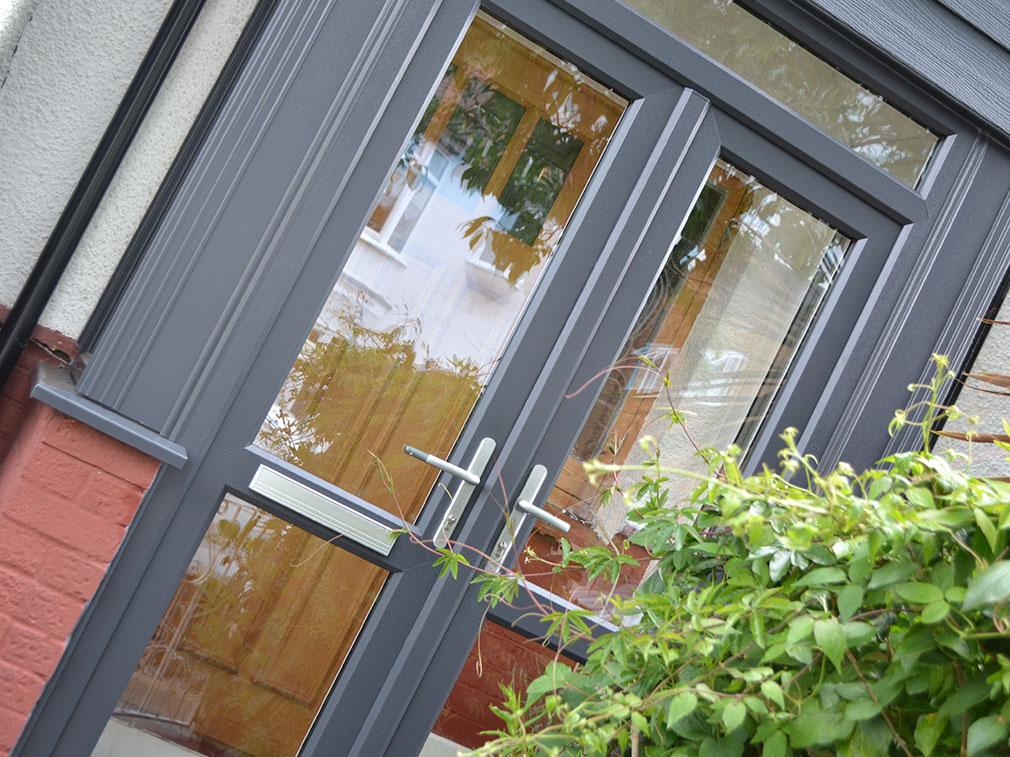 Calibre uPVC French Front Door