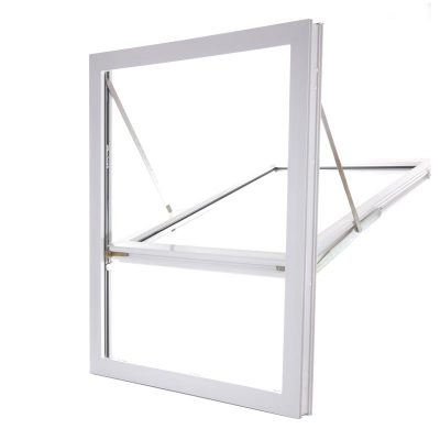Fully Reversible uPVC Window Profile Open