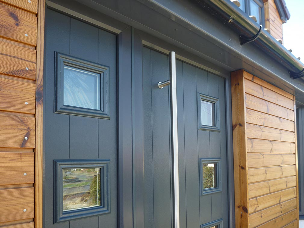 Solidor Contemporary Entrance Door