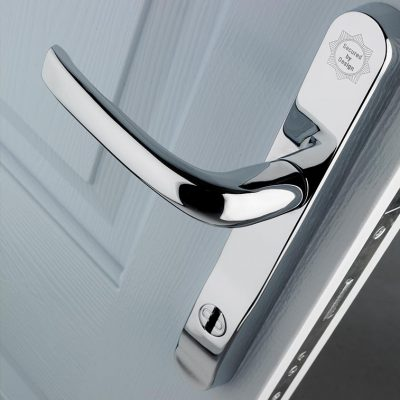 Solidor Entrance Composite Door Hardware