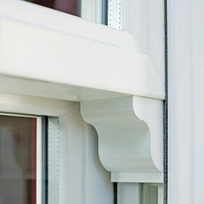 Synseal uPVC Vertical Sliders Horn
