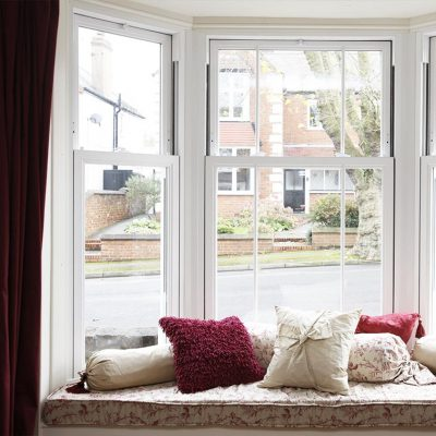 Synseal uPVC Vertical Sliding Sash Interior
