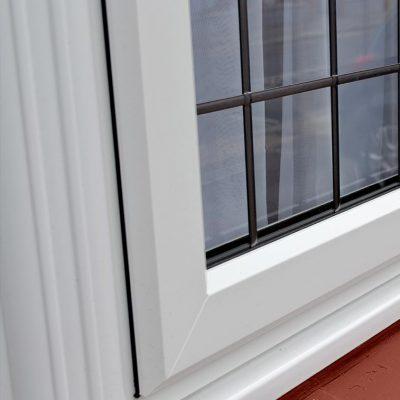 uPVC Bow Window Detail