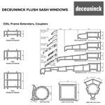Deceuninck Flush Sash Product Sheet