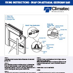 Snap On Astragal Georgian Bar Fixing Instructions
