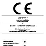 DOP Label - CLI CAL D 002-1