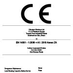 DOP Label - CLI CAL W 001