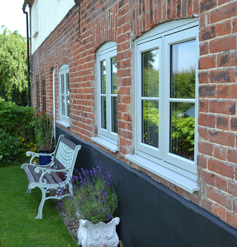 Rehau Rio Flush Sash Window