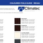 Rehau Colour Foil Lead Times